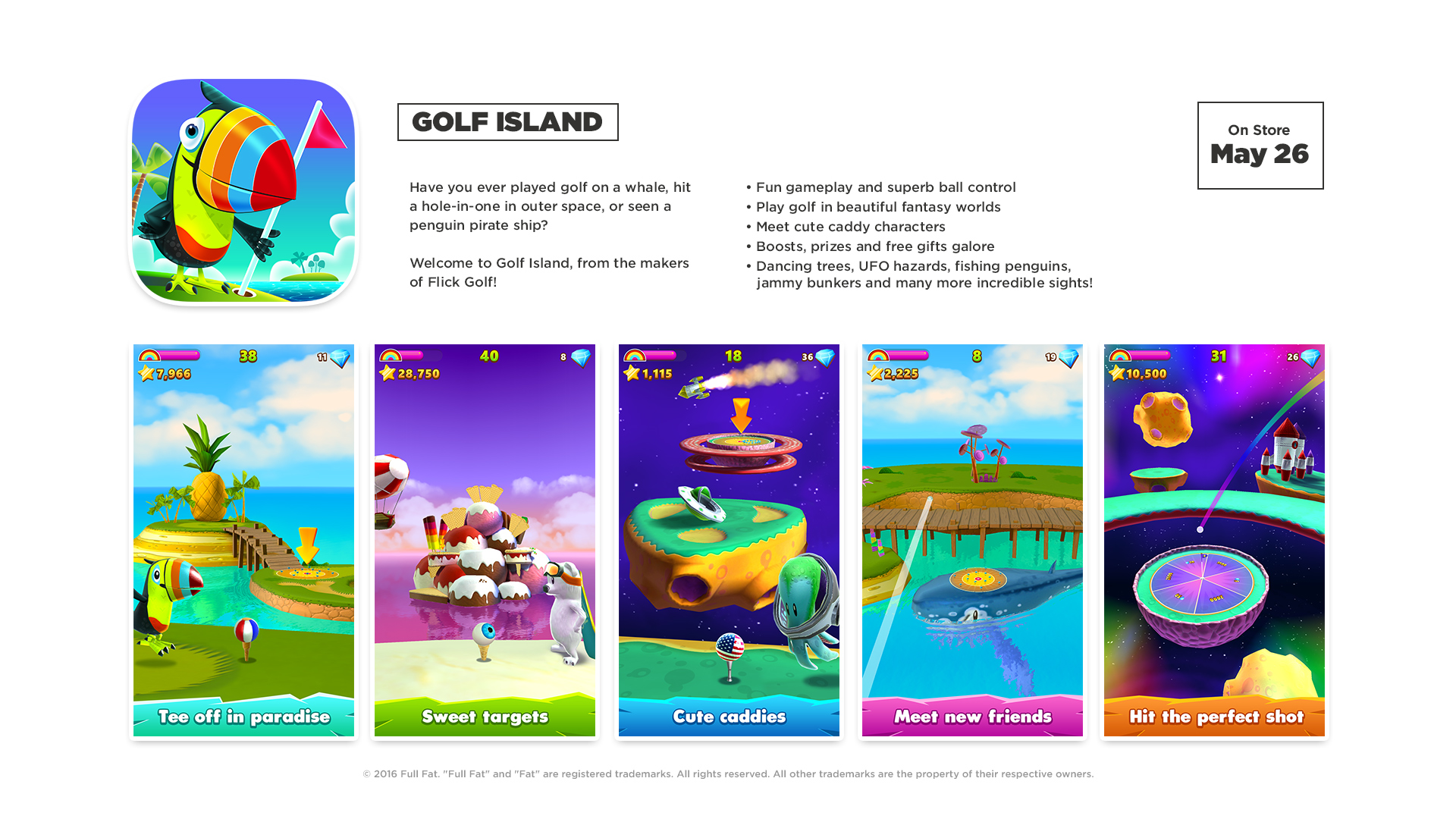 Full Fat releases Golf Island v1.0 - A Surreal Fun Packed Golf Game Image